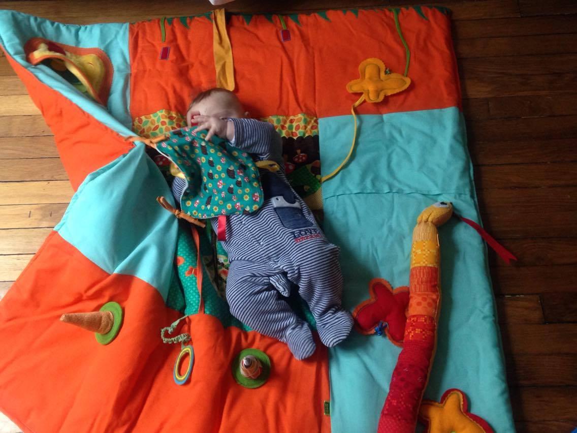 Tappeto da gioco sensoriale tattile - Tappeto per neonati ...